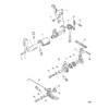 Дроссель и механизм переключения передач (Side Shift) 5023
