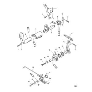 Дроссель и механизм переключения передач (Side Shift)