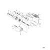 Корпус редуктора (Propshaft-Design I-Refer to вертикальный вал Drawing) 21892