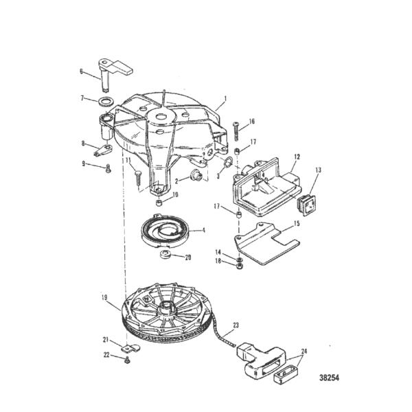 Ручной механический стартер (Модель I) 38254