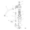 Топливный фильтр в сборе (USA-1B153168, BEL-0P360021 и выше) 10354