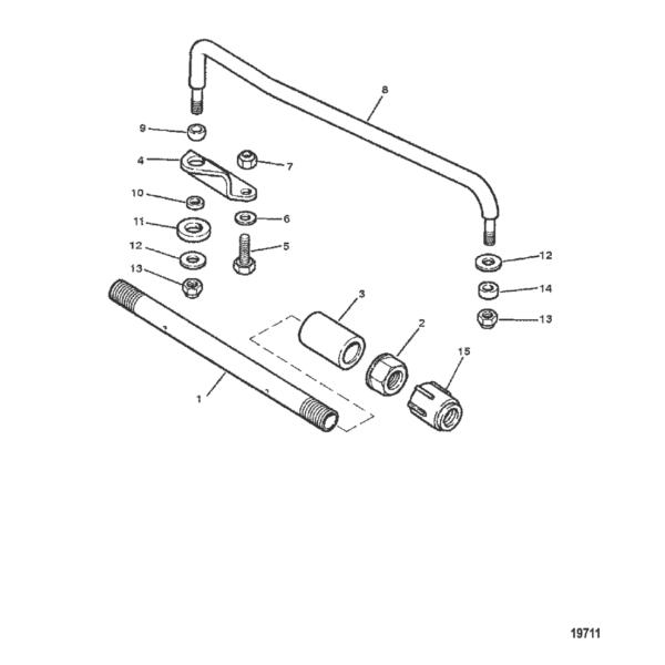 Тяга и компоненты 19711