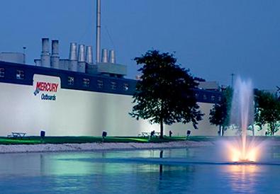 Производственные площади Mercury Marine